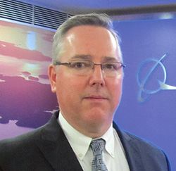Dennis D. Swanson, International Business Development Vice President for Boeing Defense, Space and Security in India