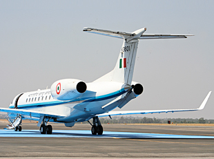 Indian Air Force's Embraer 135 Legacy