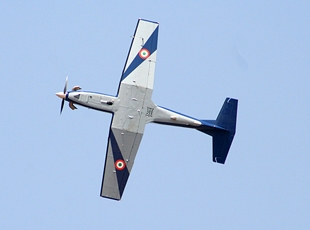 IAFs Pilatus PC-7 MkII trainer in flight